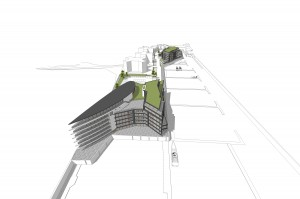 Architects view of planned Salterns Marina development